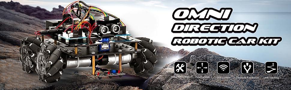 mecanum wheel robot car kit for arduino
