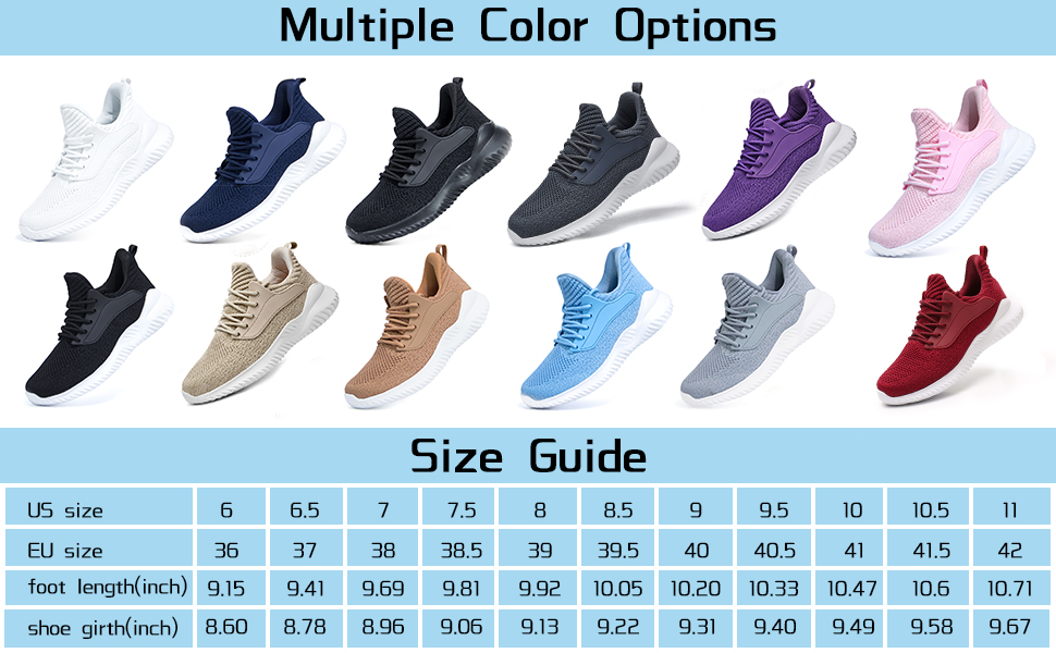 Athletic Gym Sports Walking Shoes