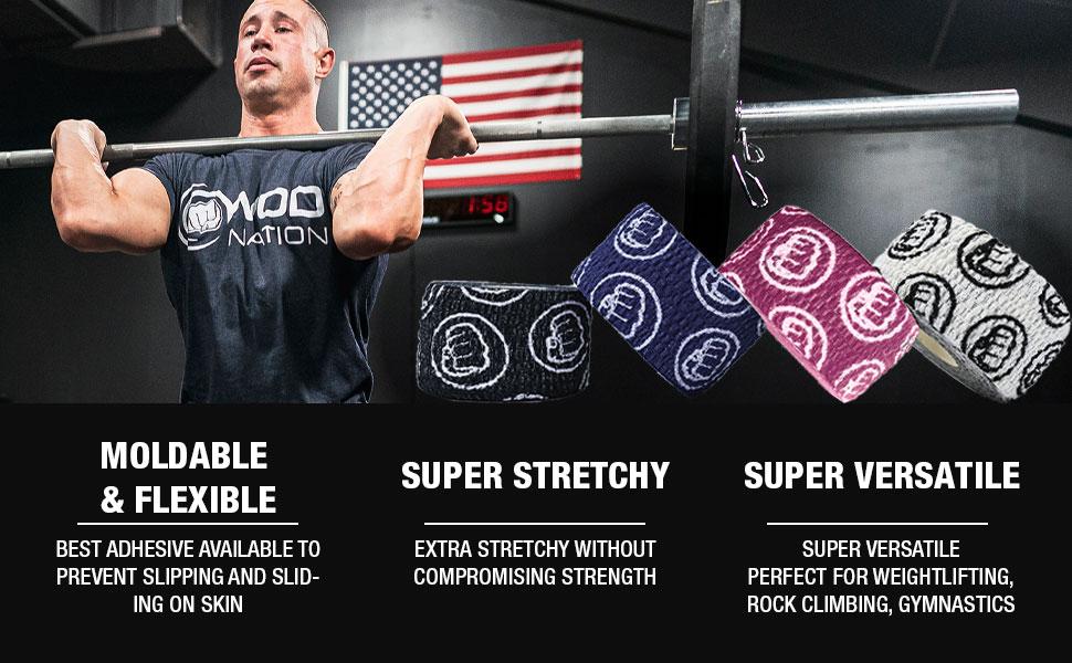 Moldable & Flexible - Super Stretchy - Super Versatile