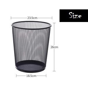 metal mesh bin