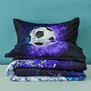 Soccer comforter