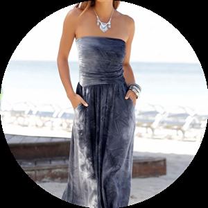 print beachwear dresses