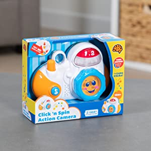 Fat Brain Toys Click 'n Spin Action Camera