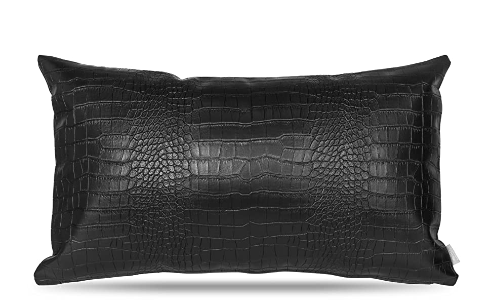 lumbar support pillow cover for lower back