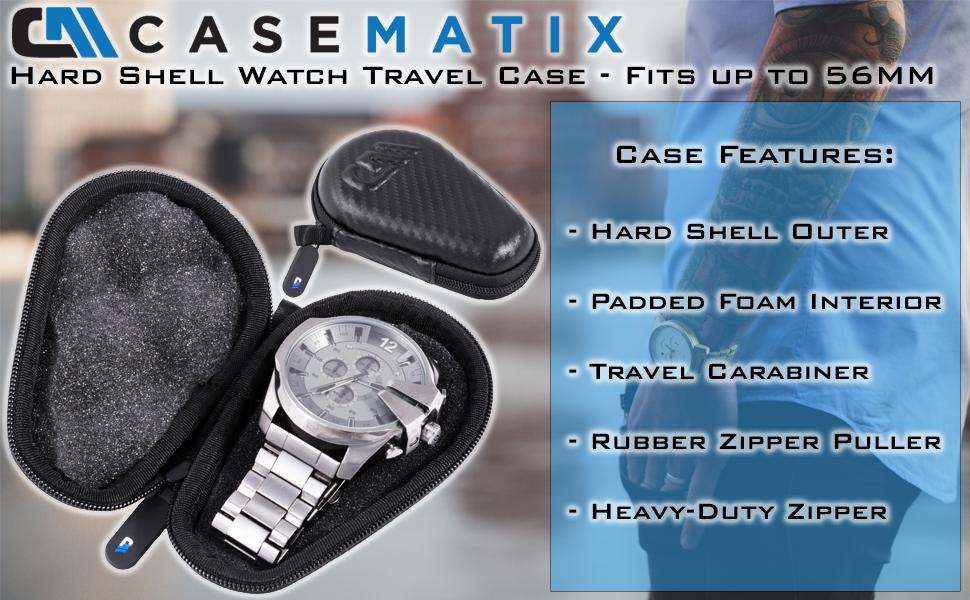 omega shockcase watch case travel watch watch travel box travel watches omega watch box watch pouch