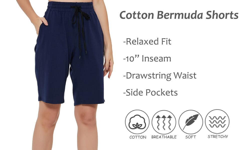 women bermuda shorts