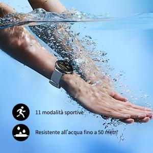 Registra il tuo esercizio anche sott'acqua