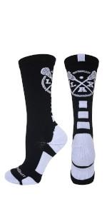 Girls Boys Lacrosse Socks Mens Womens