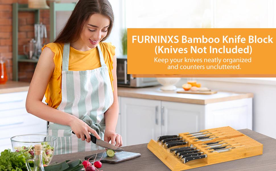 knife block drawer