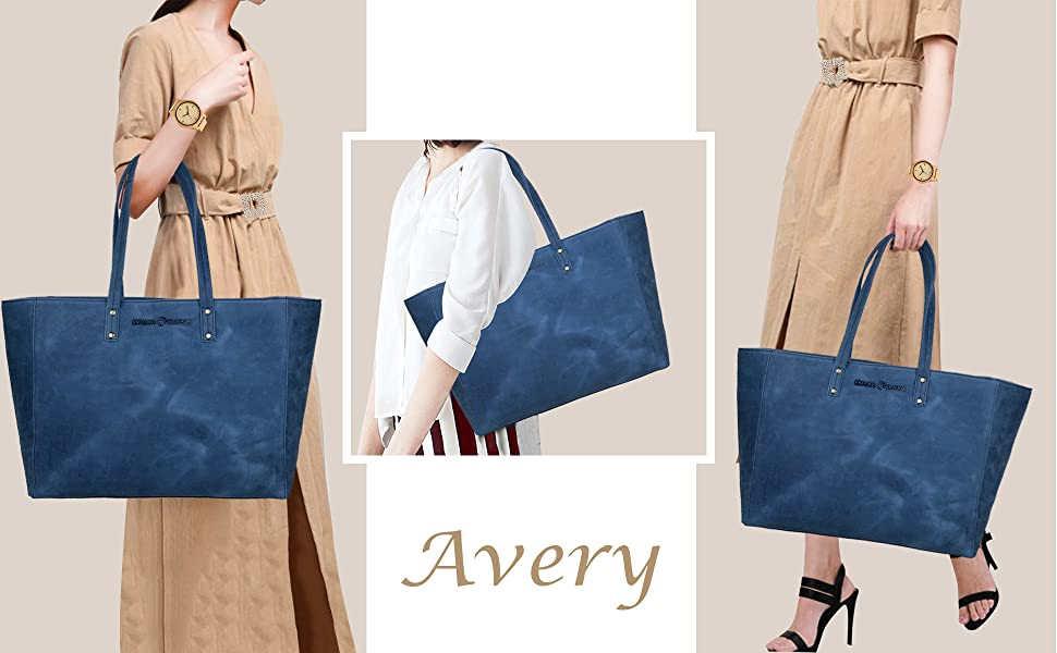 Leather totes for women,work bag for women,Blue tote bag leather,ladies leather tote bag,womens bag