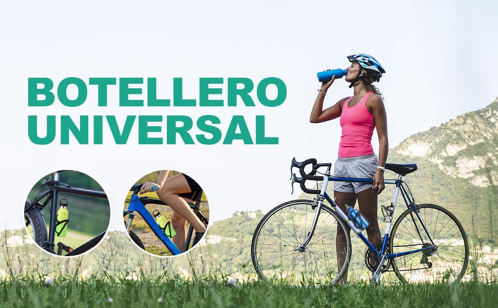 Cocoda Portabidon Bicicleta, Premium PC Soporte Botella Bicicleta MTB Diseñado para Botella de 650-750ML con Montaje de Tornillo Seguro, Ciclismo, Viaje u Otros Deportes al Aire Libre: Amazon.es: Deportes y aire libre