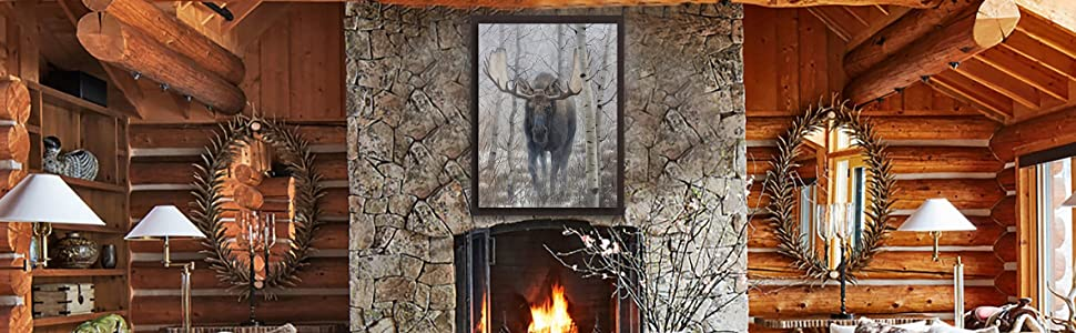 out of the woods moose home staging
