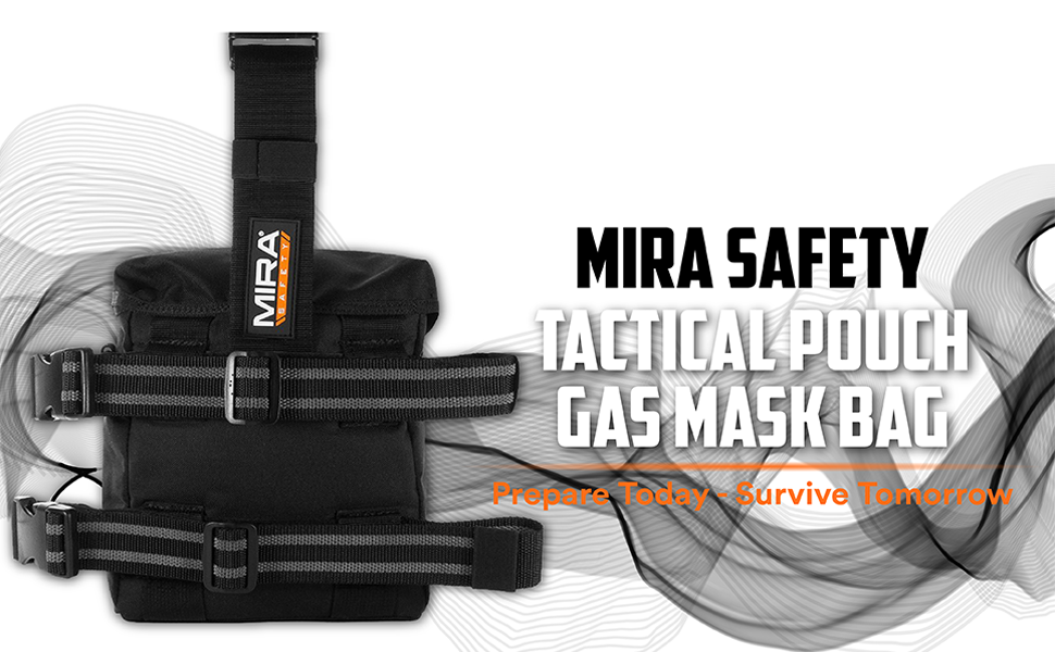 gas mask drop leg bag pouch drops m50 tear gas tactical mask holster black dump omega blackhawk