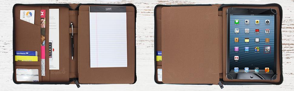Khomo accessories universal padfolio iPad tablets case