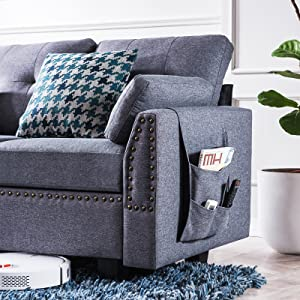 arm l shape couch