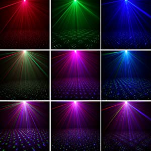 Flashandfocus.com bda3b973-c8f9-40e7-b618-3b1233734ffa.__CR0,0,1001,1001_PT0_SX300_V1___ SUNY Mini Portable Cordless Laser Lights Rechargeable RGB Stars Patterns Gobo Projector Sound Activated Music DJ Party…