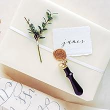 wax seal stamp wedding favors