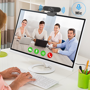 Built-in microphone which is suitable for video calling
