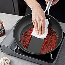 Easy to clean best frying pan stainless steel handle