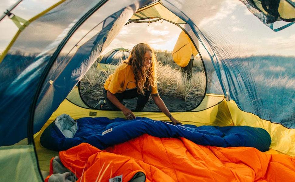 4 season sleeping bag, camp sleeping bag, 0 degree sleeping bag lightweight, furnace sleeping bag