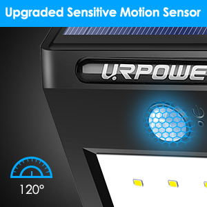 solar motion sensor security lights