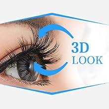 3D Look Dramatic Eyelashes