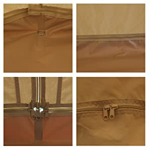 Zipper intersection & Mosquito Screen