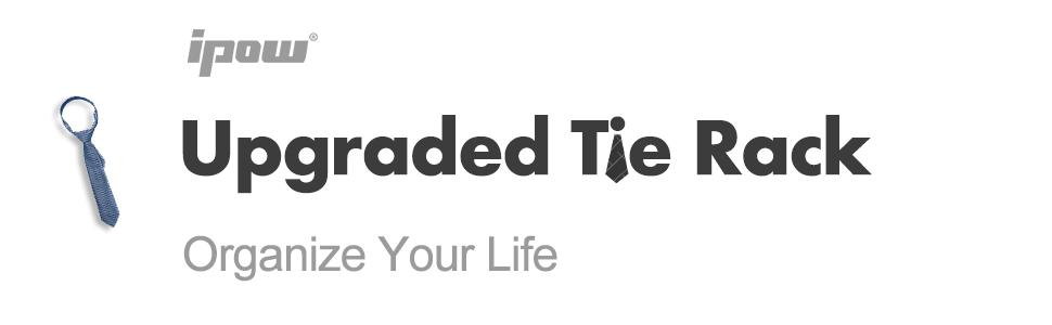 IPOW upgraded tie rack