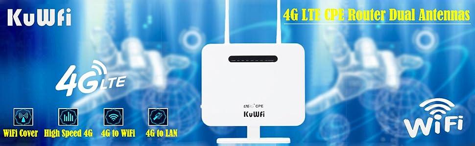 KuWFi 4G Router