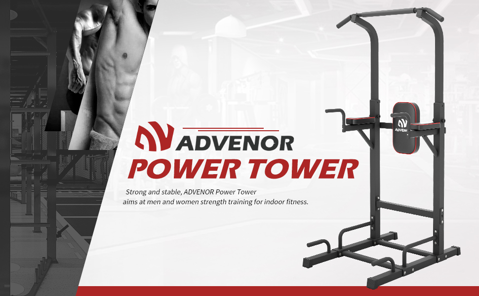 Dip Station Power Tower