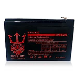 Neptune NT-12120 12V 12Ah Rechargeable SLA Battery
