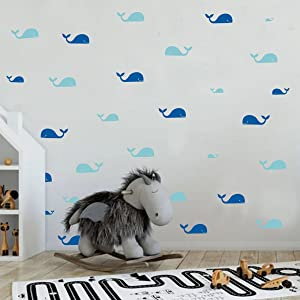 Whale decals
