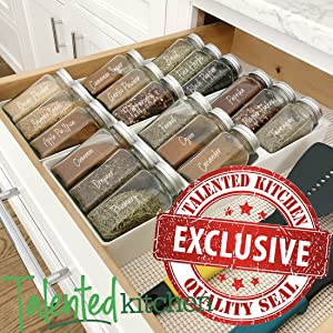 2 drawer trays by talented kitchen