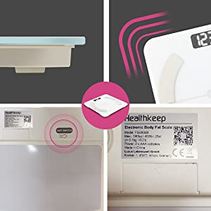 báscula iOS báscula Android bascula comercial peso digital grasa corporal báscula de baño digital