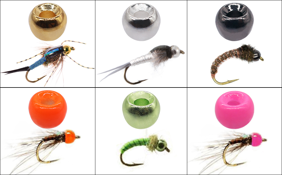 Fly Tying Beads Heads