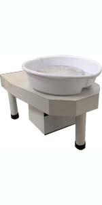 White Detachable Pot