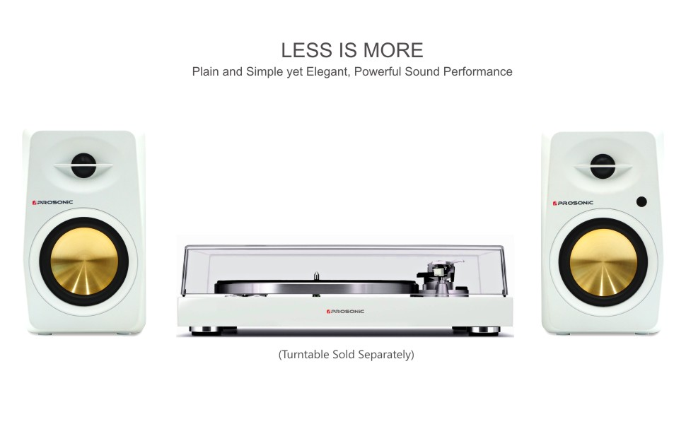 Prosonic Bookshelf Speaker 60Watts