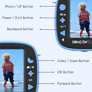 Portable Kids-Friendly Digital Camera