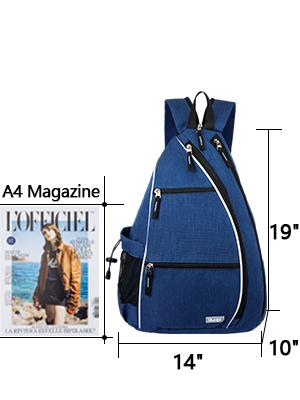 black crossbody bags for women sling bag for men tennis rackets sports bag tennis backpack