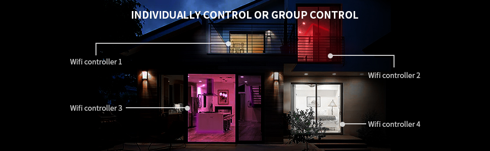 individual control or group control