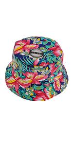 Cappello a secchiello stampato