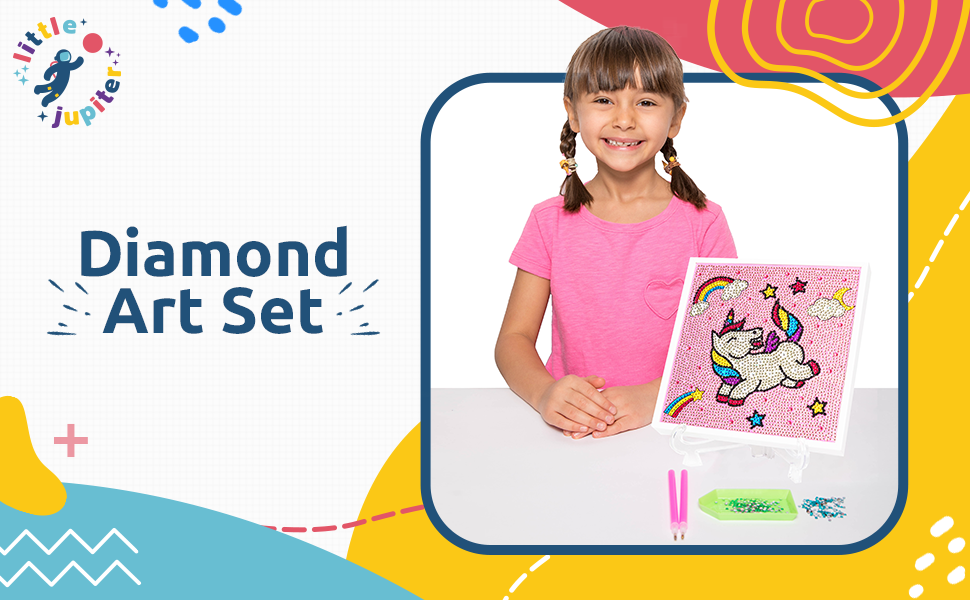 diamond art crafts unicorn gifts full diamond childrens toys boys and girls gem art dinosaur cat