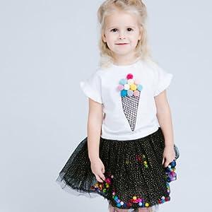 Free Hair Clip |5x2.5x4.5/'/' Size Doe a Dear Circular Tweed Purse Small /& Stylish Children /& Girls for Kids