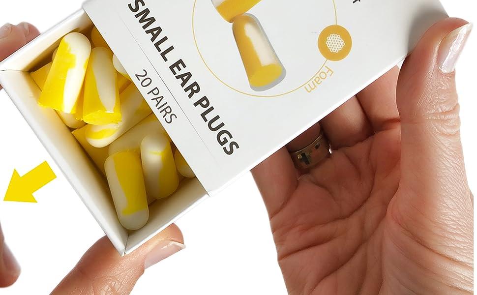 small earplugs for sleeping