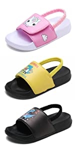 Boys amp; Girls Sandals Slippers Toddler Little Kid Child Slides Outdoor Beach Pool Water Shoes