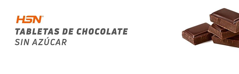 Tableta de Chocolate con Coco de HSN | Dark Coconut Chocolate | 72% Cacao y 5% Coco | Snack Fitness Saludable | Vegetariano, Sin Azúcar, Sin Gluten, ...