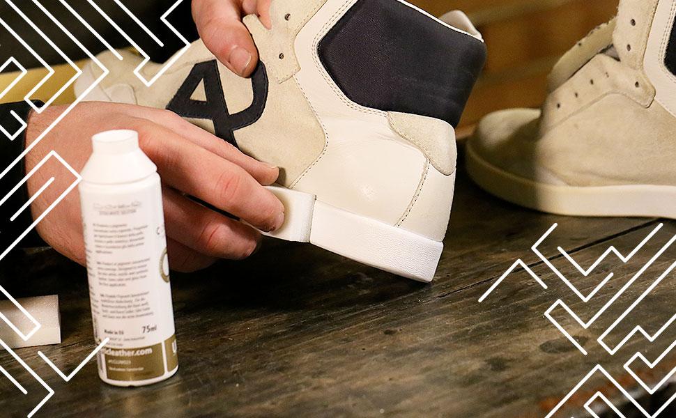 Sbiancante, bianchetto Coprente Venice Bianca per Sneakers e Scarpe in Pelle 75 ml