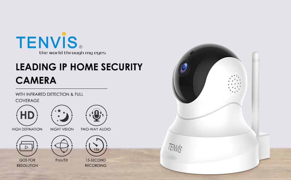HD Single Band Wifi Camera Safety Indoor Security Smart Cam Monitoring System