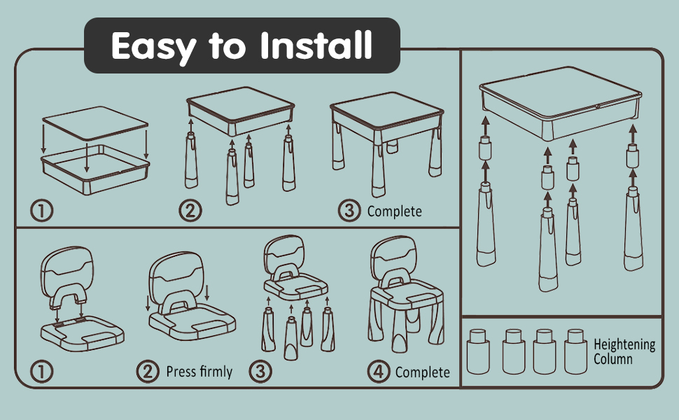 how to install table
