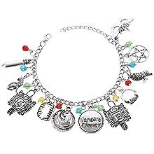 Vampire Diaries Charm Bracelet Cosplay Jewelry